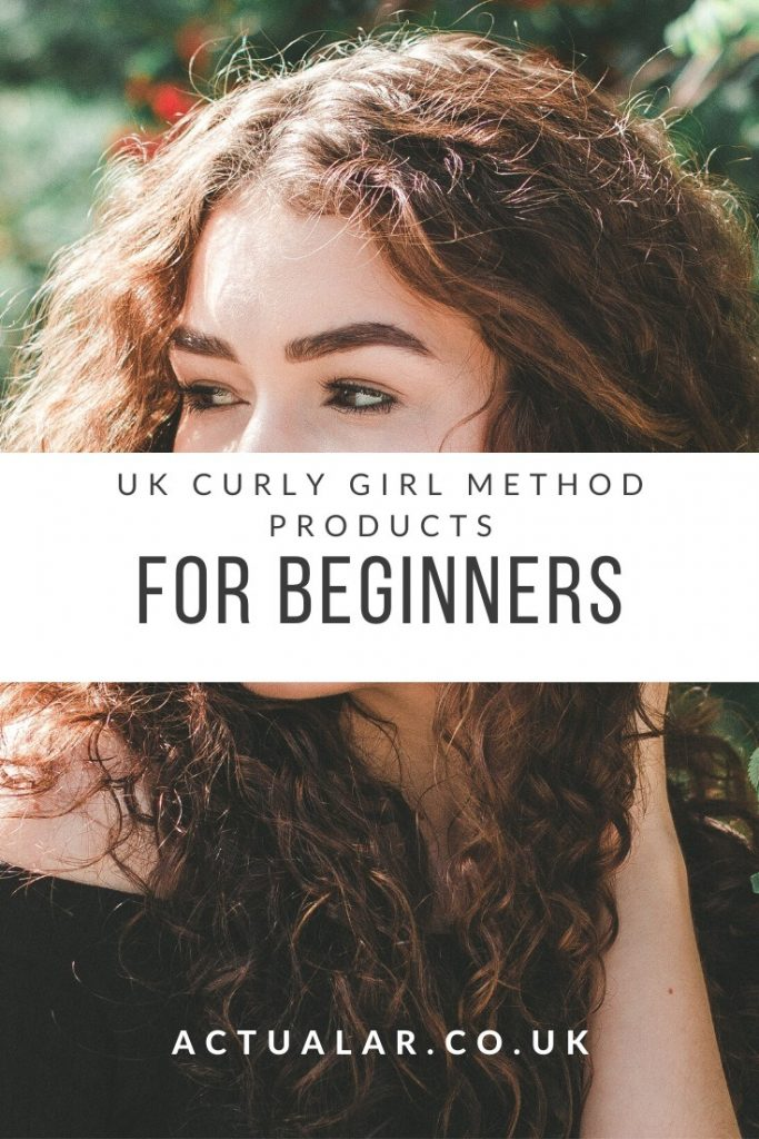 Curly Girl mehtod Products For Beginners