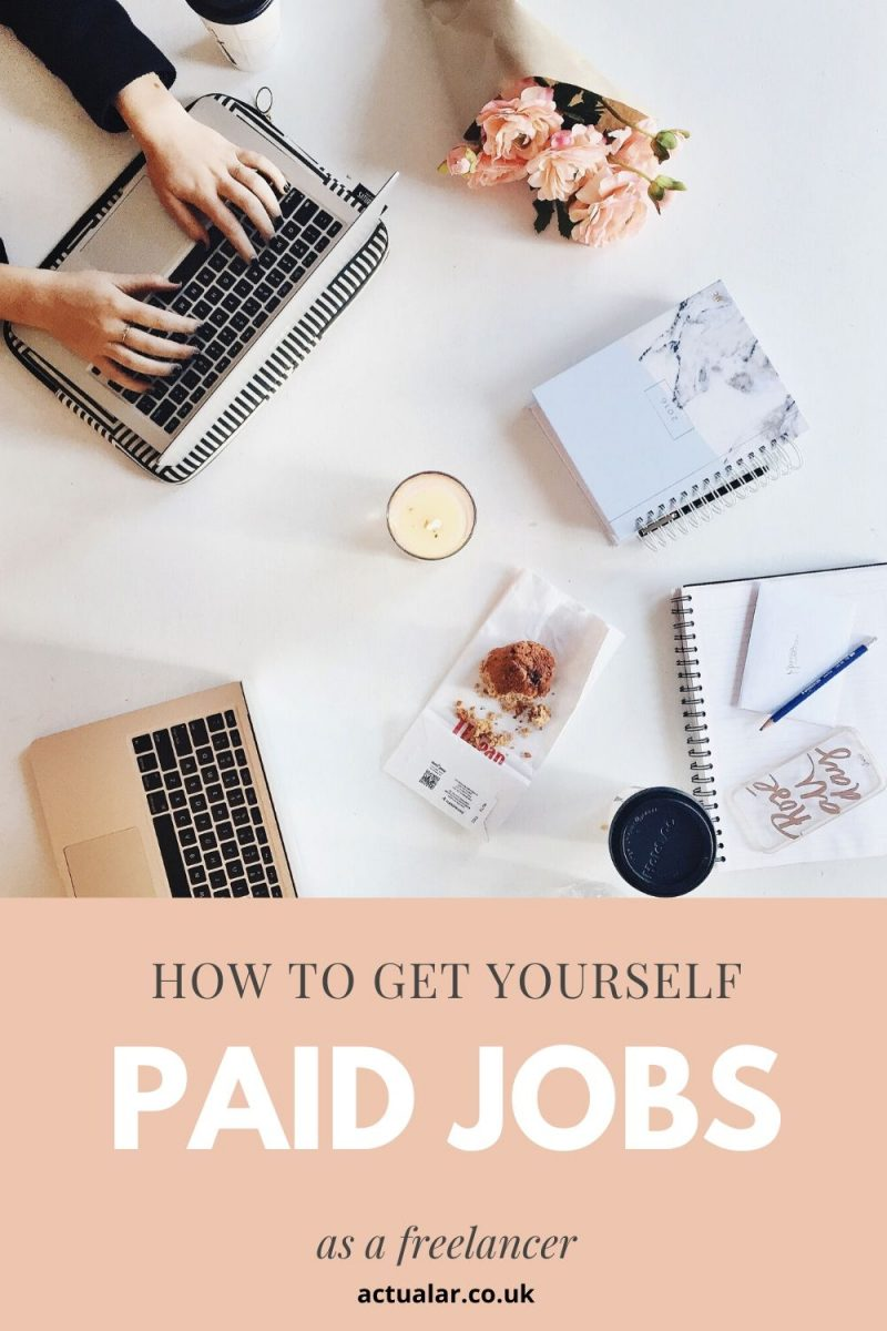 promoting your portfolio and getting paid work
