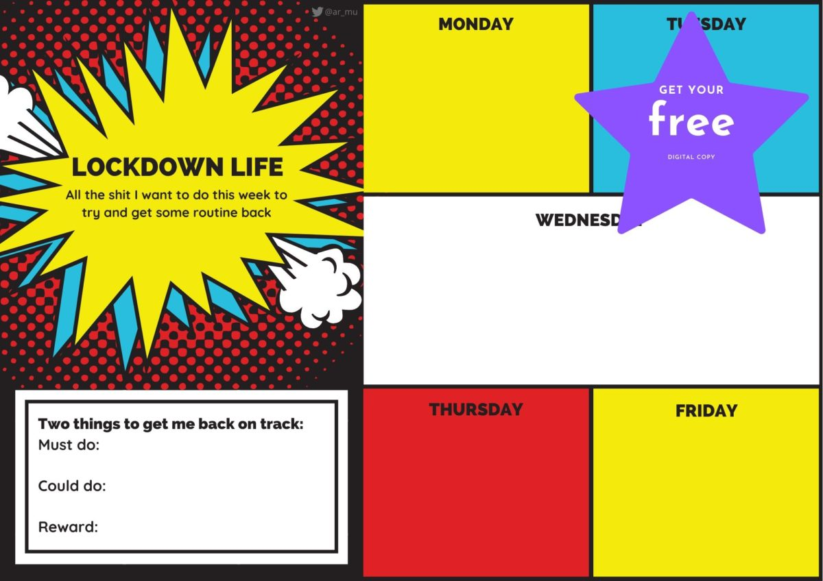 Free printables for wellbeing during lockdown