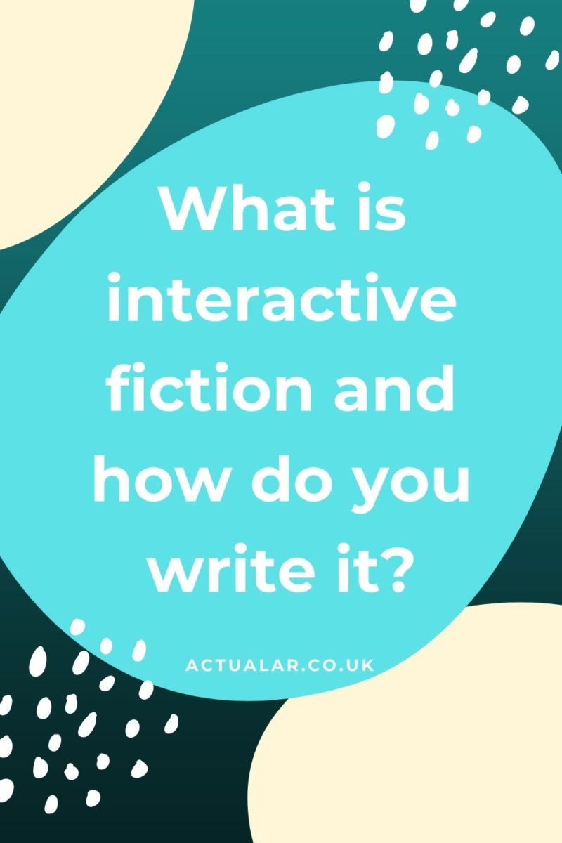 What is interactive fiction?
