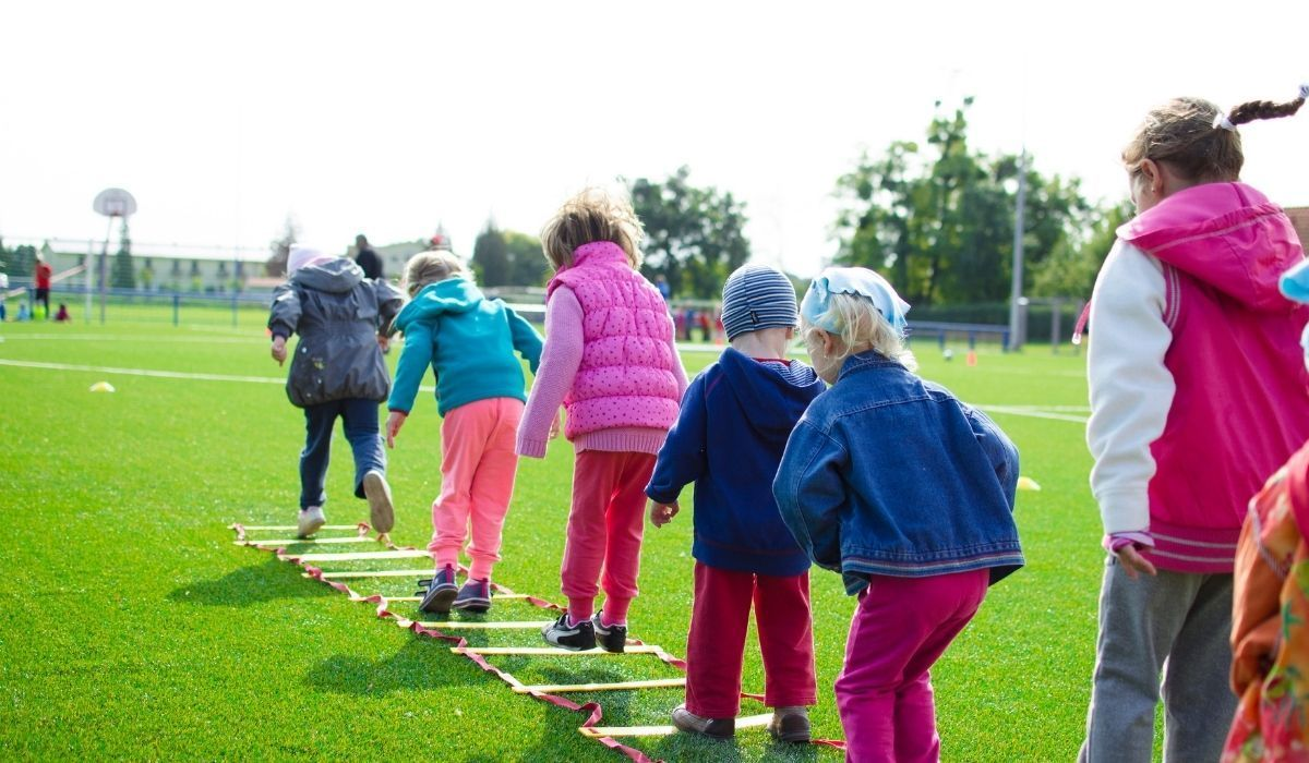 keeping fit with the kids
